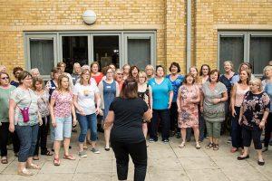 First ever Chorus Retreat Fascinating Rhythm
