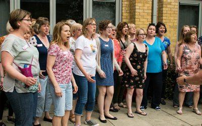 First ever chorus retreat!