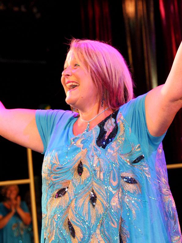 Jo Thorn Musical Director Fascinating Rhythm Bristol